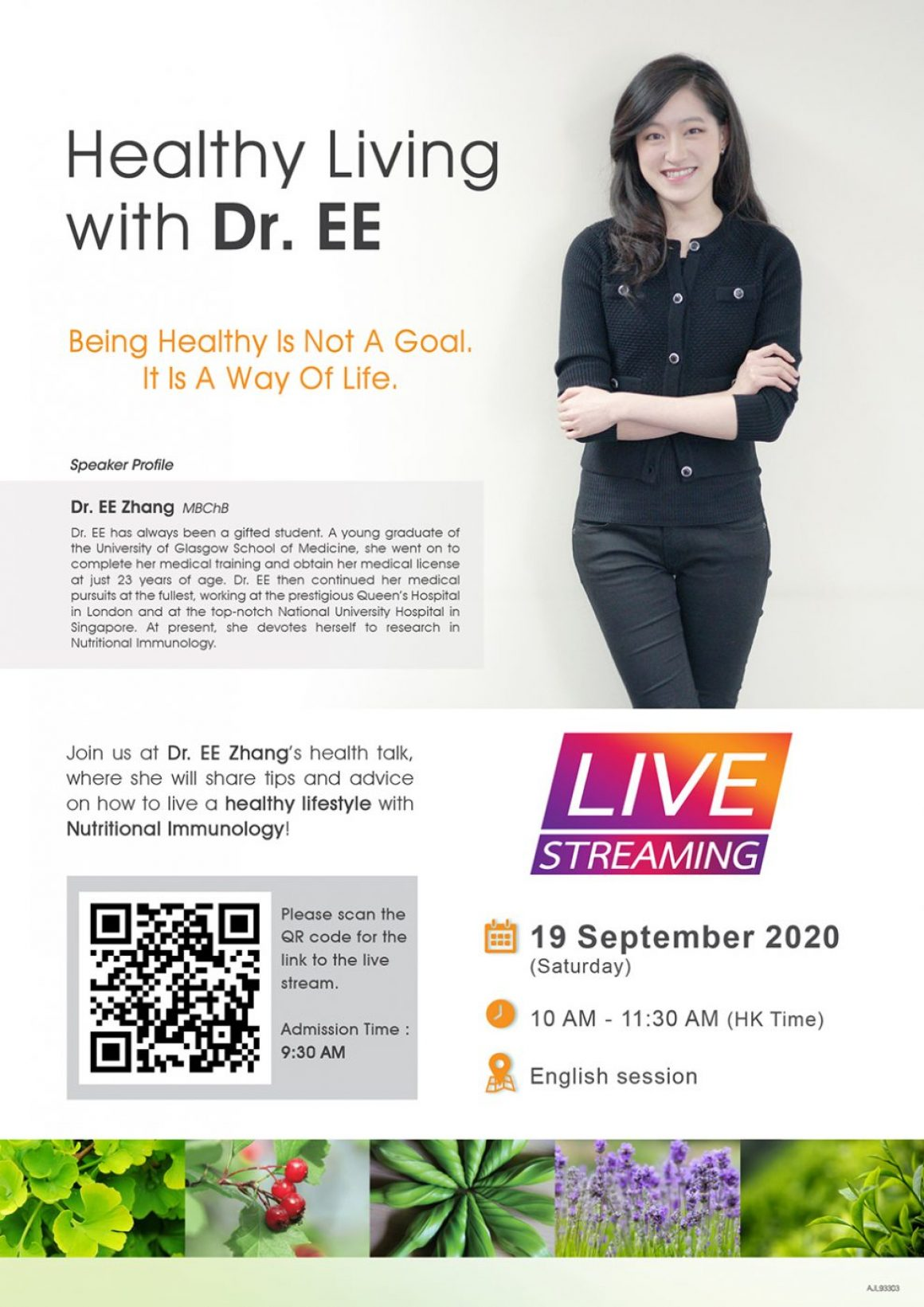 Healthy Living with Dr.EE - 2020-09