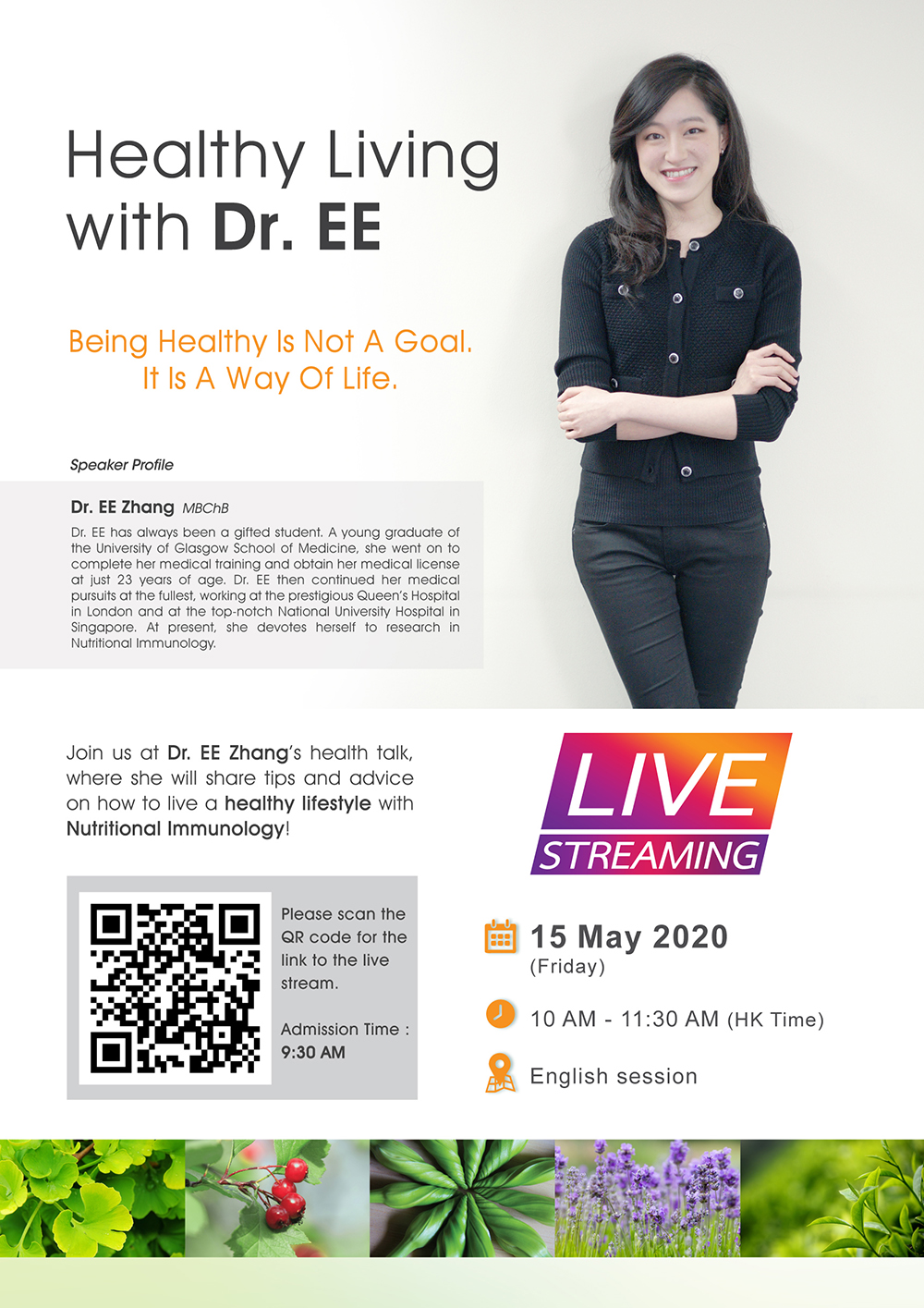 Healthy living with Dr.EE