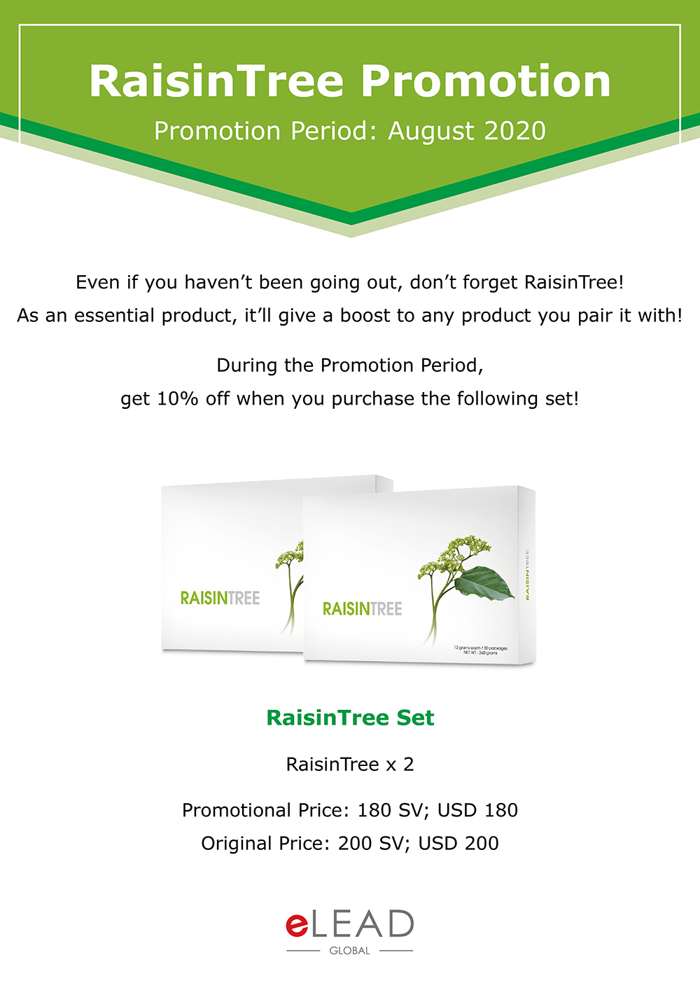 RaisinTree Promotion