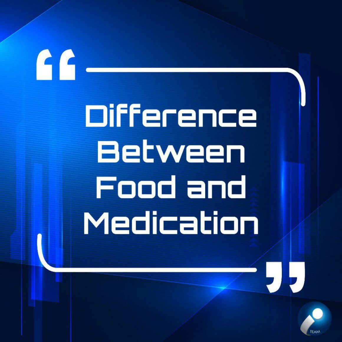 difference-between-food-medication-english